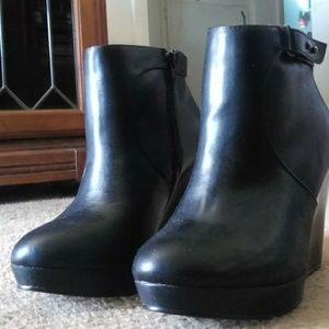 Black Torrid booties